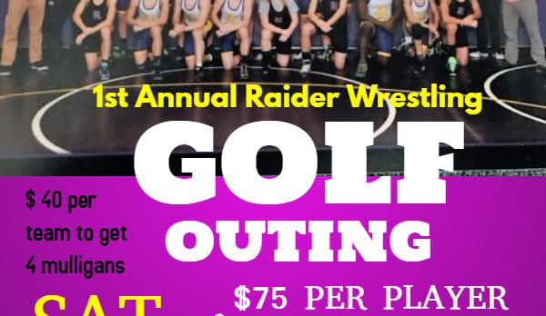 Raider Wrestling Golf Outing