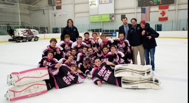 "NCPS Hockey Win ""PINK IN RINK"" Tournament"
