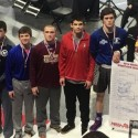 State Wrestlers at Award Ceremony