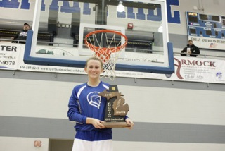 Lexi Heimbaugh Receives 2016 Girls Basketball Scholarship