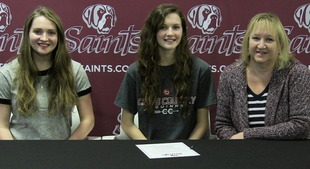 Congrats to Vanessa Hubert for Signing with Aquinas Cross Country