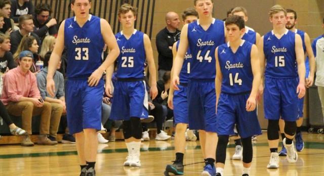 Sparta Boys Varsity Walks Into West Catholic and Gets the Season Sweep, 56-47