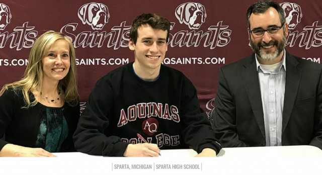 Kyle Pinckney to Play Soccer at Aquinas College Next Year