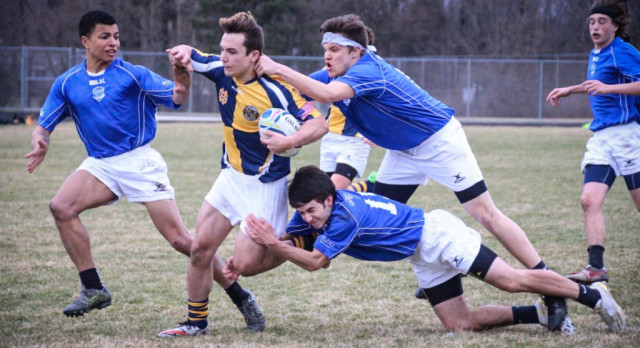 Sparta High School Boys Varsity Rugby falls to Grand Haven High School 10-0