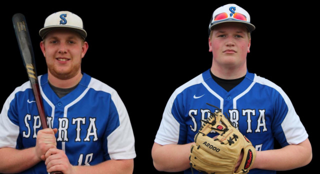 Riley Kutzli and Mason Tidey Receive Academic All-State Honors in Baseball