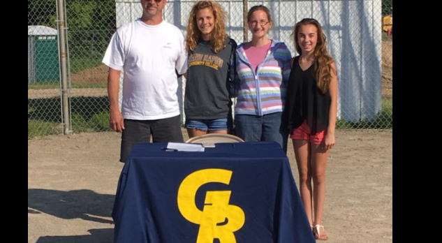 Ally Wright Signs to Play Softball at Grand Rapids Community College