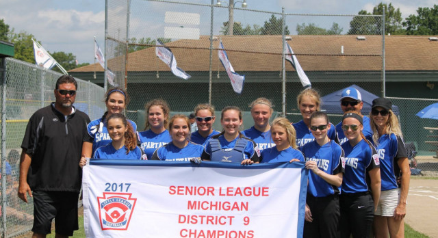 Congrats to Sparta Little League Softball Seniors for Winning State!