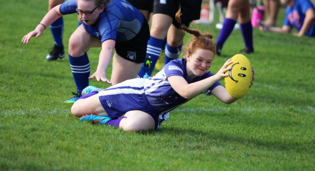 Girls Rugby Wins BIG!