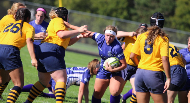 Sparta Rock Girls Rugby Hands Grand Haven First Loss, 36-5