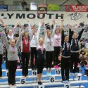 Carly Jehnzen at Gymnastics State Finals