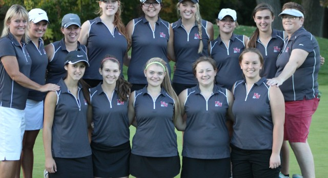 Girls Golf 10th after Day 1