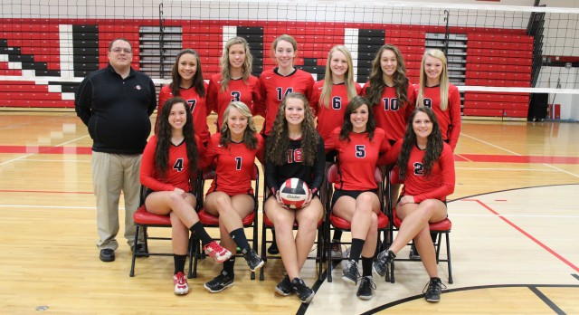 Varsity Volleyball advances to the Semis of the East Jackson Invite