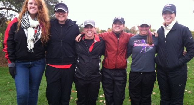 Girls Golf Finishes 10th in the State