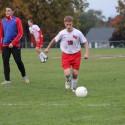 Boys Soccer warmups