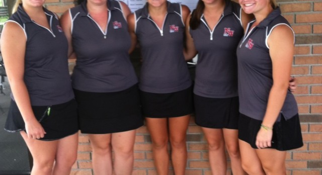 Girls Golf 4th at Western Invitational