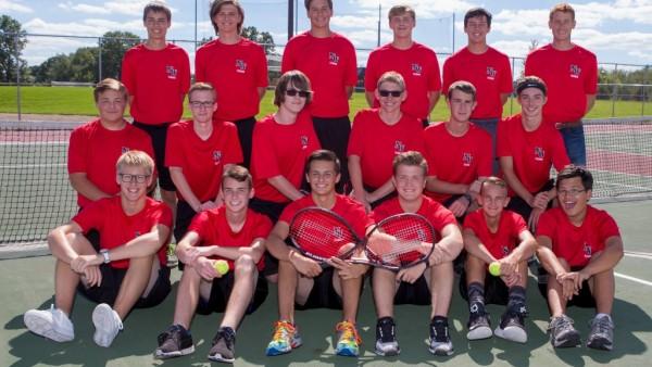 Boys Tennis Yearbook