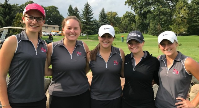 Girls Golf Advances to the State Finals!