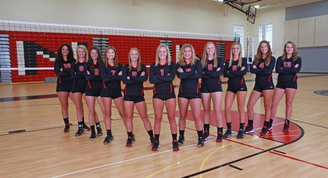 Varsity Volleyball Earns Team Academic All State; Two Seniors earn Individual Academic All State