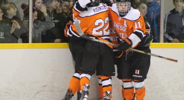 Jackson United Hockey defeats Lumen Christi