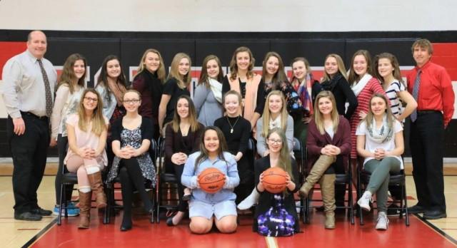8th Gr. Girls' Basketball defeats Western