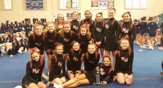 Middle School Cheer Competes at Mason