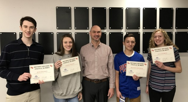 December/January Athletes of the Month