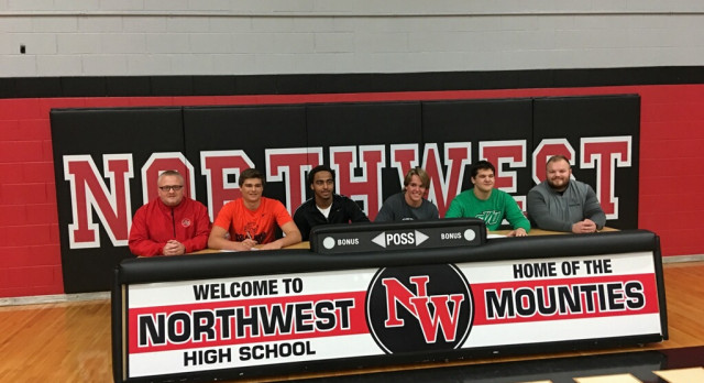 4 Mounties Commit to Play at the Next Level!!