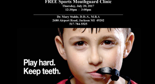 FREE Sports Mouthguard Clinic