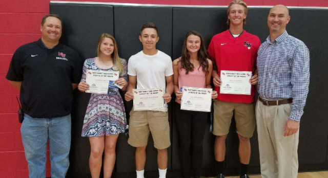 April Athletes of the Month!