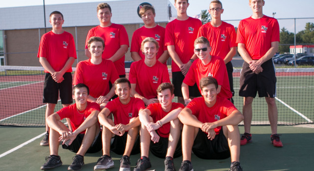 Boys Tennis Results from I-8 Tournament