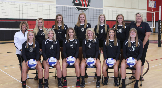 Varsity Volleyball Sweeps Hastings