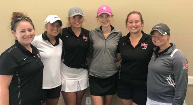 Girls Golf Competes at the I-8 Finals