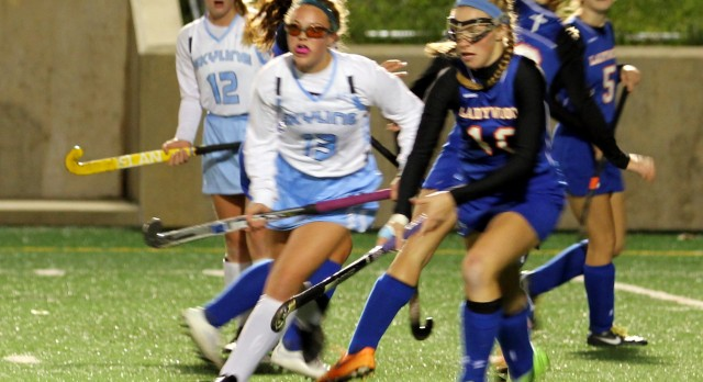 Varsity Field Hockey drops 4-1 decision to Skyline in State Quarters.