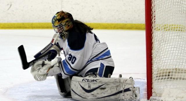 Hockey opens season with 2-0 shutout over Bloomfield.