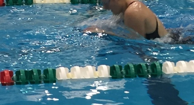 Rzepka earns All-State with 8th Place Finish in the Breaststroke.