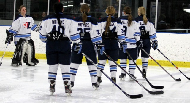 Blazers Ice Hockey Wins Season Opener