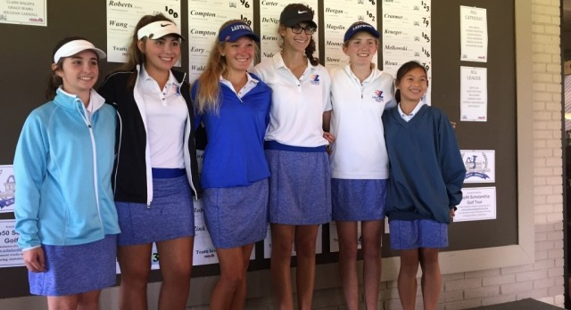 Golf takes 3rd in CHSL Championship