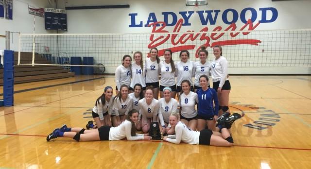 Volleyball wins Ladywood Invitational