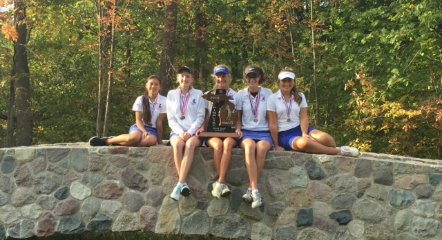Ladywood Golf takes 2nd in the D-4 State Finals