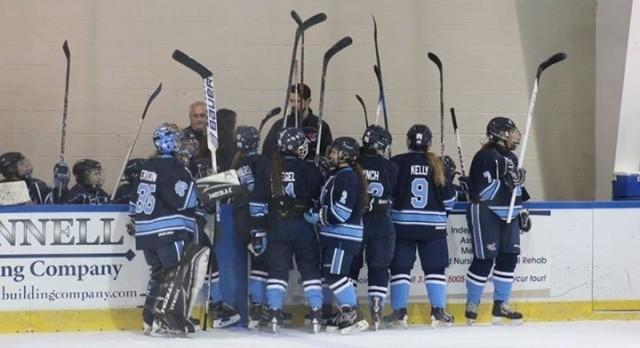 Ladywood Hockey Defeats Grosse Pointe North