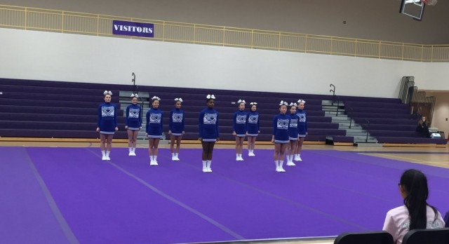Competitive Cheer Places 2nd at Catholic Leagues