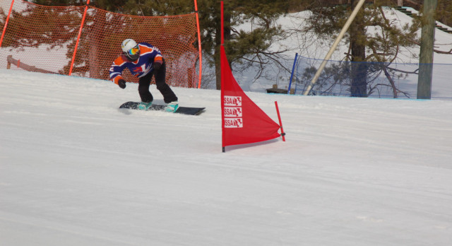 Baxter finishes 4th in State Snowboarding Championship