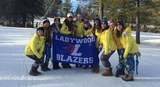 Ski Team Takes Second at Division Championship