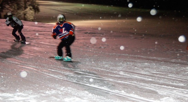 Snowboarder Baxter Finishes Strong in Recent Meets