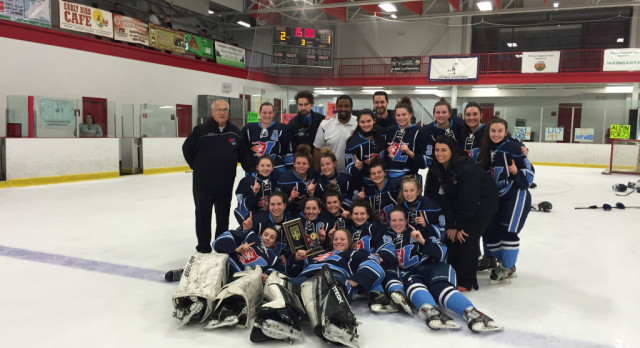 Hockey Wins Catholic League Championship