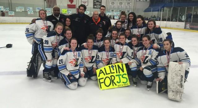 Hockey Falls Short in Championship Game