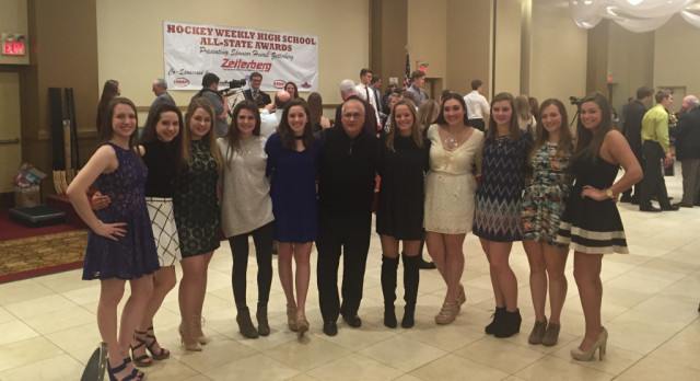 Hockey Honored at All-State Banquet