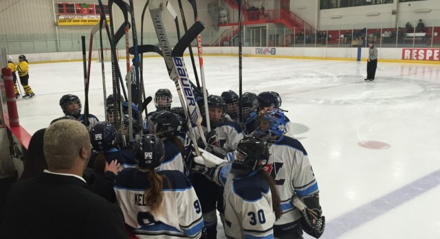 Hockey Moves On With Win in Quarterfinals