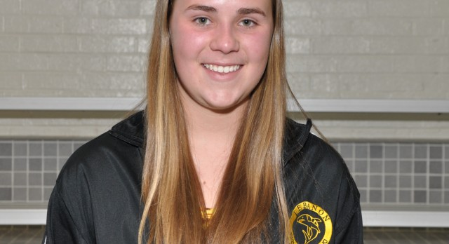 Congratulations Shannon Jones Named NISCA Academic All-American Swim & Dive
