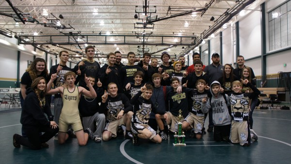 The wrestling team capped off an exciting weekend by beating rival  Zionsville 29-26 in the championship match at the Westfield Duals on  Saturday.
